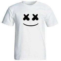 تی شرت مردانه ارزان قیمت طرح مارشملو کد 17330