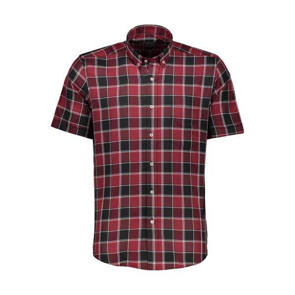 خرید پیراهن مردانه چهارخونه زی مدل 15312297499