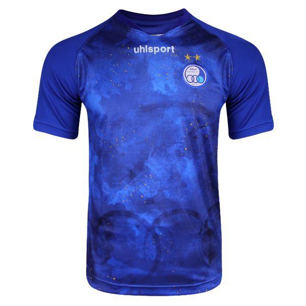 تی شرت ورزشی مردانه آلشپرت طرح استقلال مدل nim2 2020