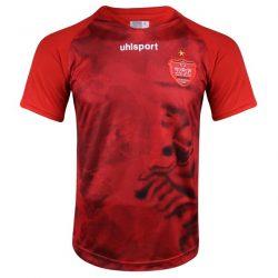 تی شرت ورزشی مردانه آلشپرت طرح پرسپولیس مدل nim2 2020